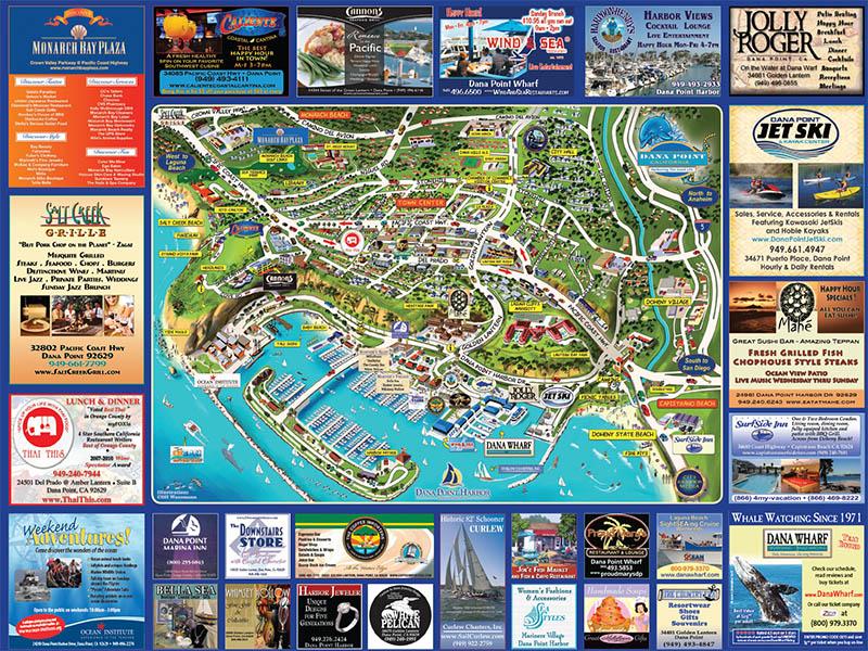 City Keeper Media Tourist Maps and Laguna Beach Calendar